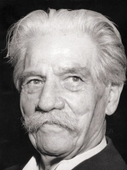 Photo of Albert Schweitzer
