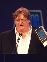 Photo of Gabe Newell