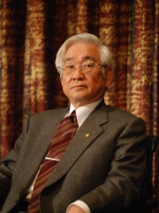 Photo of Toshihide Maskawa