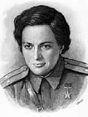 Photo of Lyudmila Pavlichenko