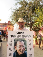 Photo of Liu Xiaobo