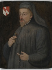Photo of Geoffrey Chaucer