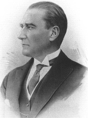 Photo of Mustafa Kemal Atatürk