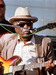 Photo of John Lee Hooker