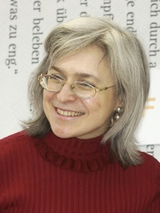 Photo of Anna Politkovskaya