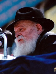Photo of Menachem Mendel Schneerson