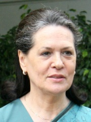 Photo of Sonia Gandhi
