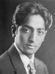 Photo of Jiddu Krishnamurti