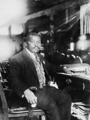 Photo of Marcus Garvey