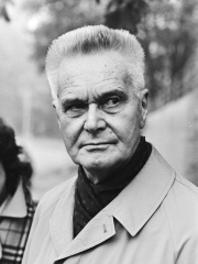 Photo of Jan Tinbergen