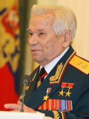 Photo of Mikhail Kalashnikov
