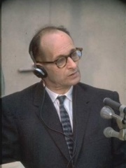 Photo of Adolf Eichmann