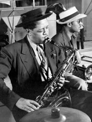 Photo of Lester Young