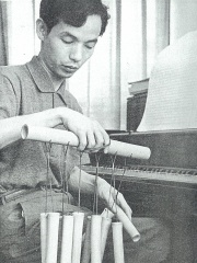Photo of Toru Takemitsu