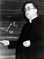 Photo of Georges Lemaître