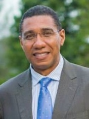 Photo of Andrew Holness