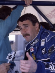 Photo of Nigel Mansell