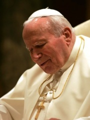 Photo of Pope John Paul II