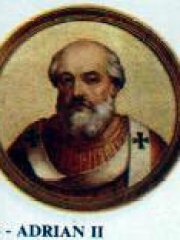 Photo of Pope Adrian II