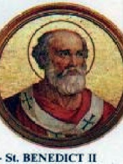 Photo of Pope Benedict II