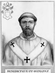 Photo of Pope Benedict V