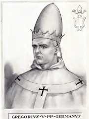 Photo of Pope Gregory V