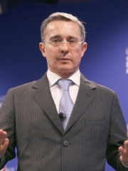 Photo of Álvaro Uribe