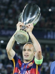 Photo of Andrés Iniesta