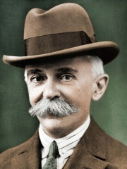 Photo of Pierre de Coubertin