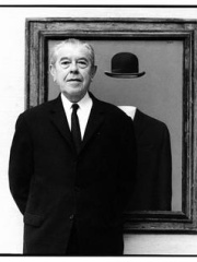Photo of René Magritte