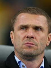 Photo of Serhiy Rebrov