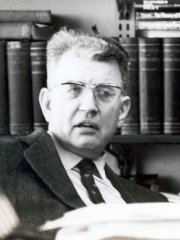 Photo of Ronald Coase