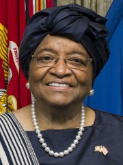 Photo of Ellen Johnson Sirleaf