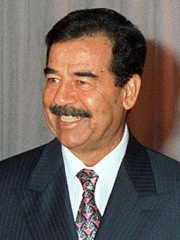 Photo of Saddam Hussein