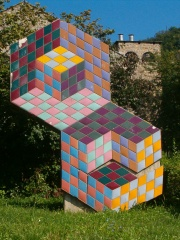 Photo of Victor Vasarely