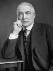 Photo of Warren G. Harding