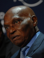Photo of Abdoulaye Wade