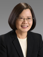 Photo of Tsai Ing-wen