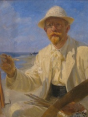 Photo of Peder Severin Krøyer