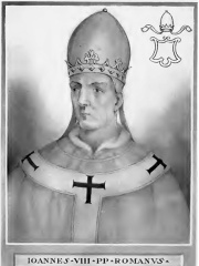 Photo of Pope John VIII