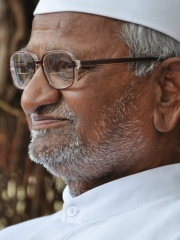 Photo of Anna Hazare