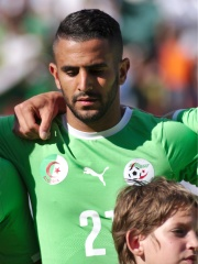 Photo of Riyad Mahrez