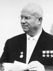 Photo of Nikita Khrushchev