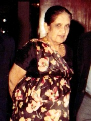 Photo of Sirimavo Bandaranaike