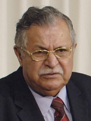 Photo of Jalal Talabani