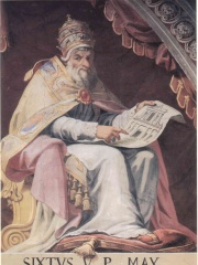 Photo of Pope Sixtus V