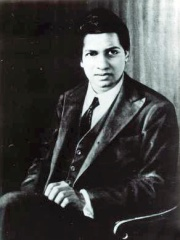 Photo of Srinivasa Ramanujan
