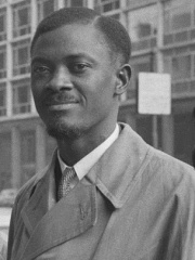 Photo of Patrice Lumumba