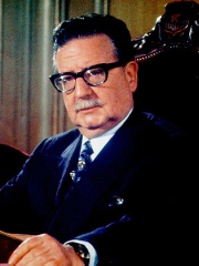 Photo of Salvador Allende