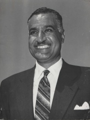 Photo of Gamal Abdel Nasser